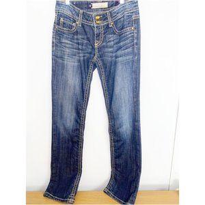 Vigoss Fit Straight Jeans Sz 5/6 (28)